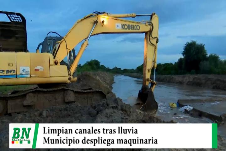 Lee más sobre el artículo Limpian canales de drenaje y municipio despliega equipos tras lluvias
