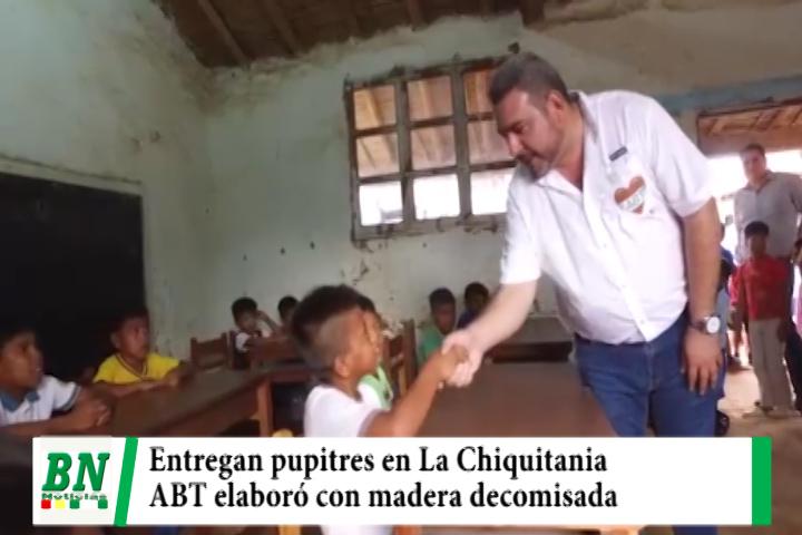 Lee más sobre el artículo ABT entrega pupitres a municipios de La Chiquitania