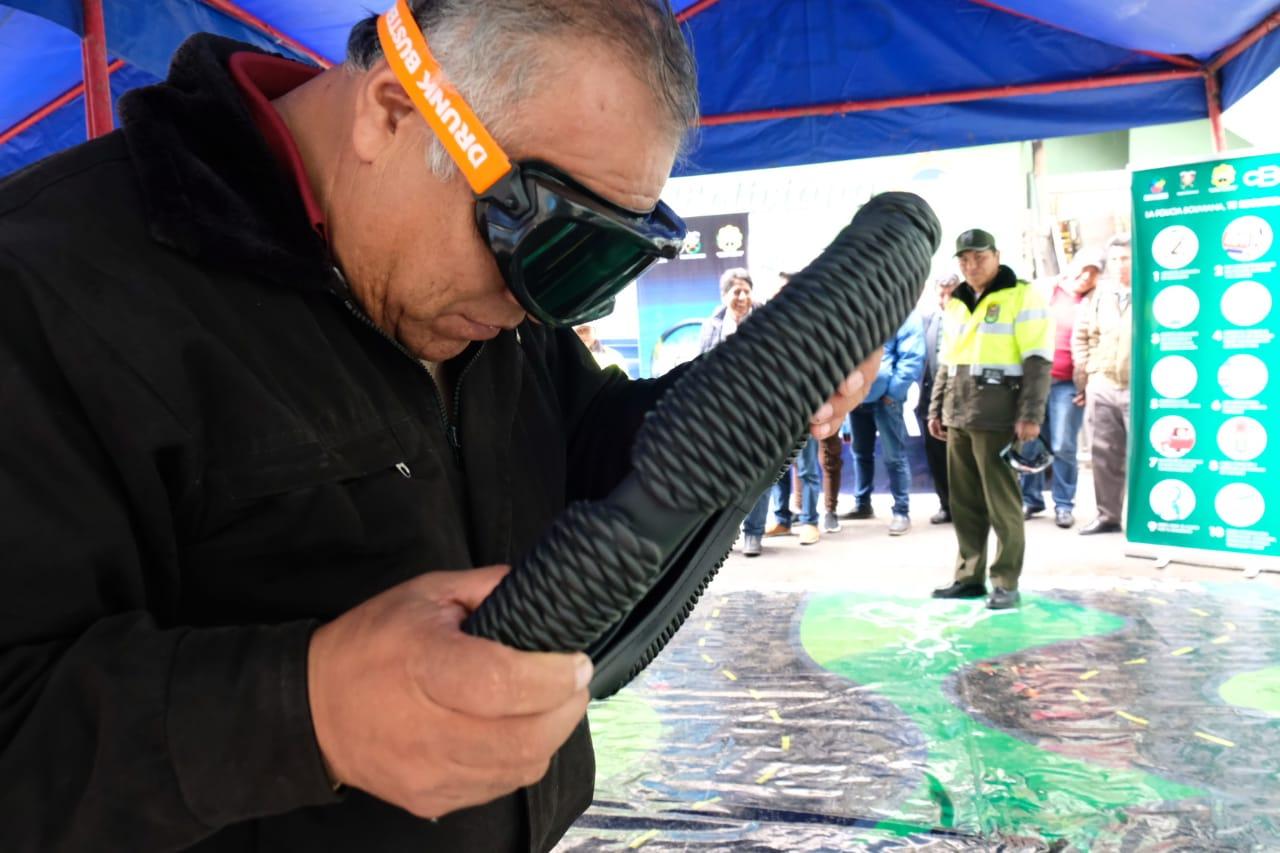 Lee más sobre el artículo Policía Boliviana y CBN organizan talleres para la prevención de hechos y accidentes de tránsito