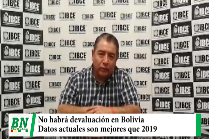 Lee más sobre el artículo IBCE descarta devaluación en Bolivia y asegura que datos del 2019 fueron usados por Fitch