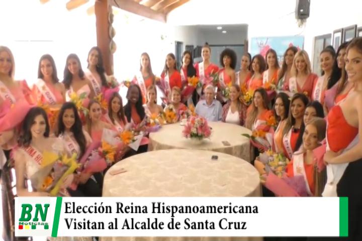Lee más sobre el artículo Candidatas a Reina Hispanoamericana visitaron al Alcalde Percy Fernandez