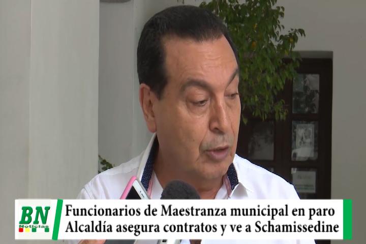 Lee más sobre el artículo Trabajadores de Maestranza municipal en paro y alcaldía asegura contratos, acusa a Schamissedine