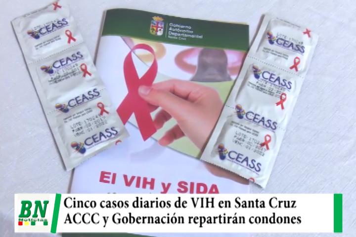 Lee más sobre el artículo Reportan cinco casos diarios de VIH y realizan campaña repartiendo condones