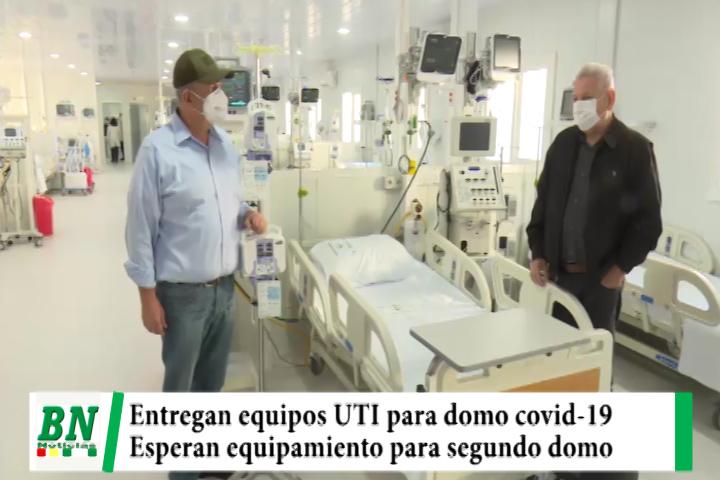 Lee más sobre el artículo Alerta coronavirus, Entregan equipos UTI para primer domo en el Hospital japones y esperan para el segundo