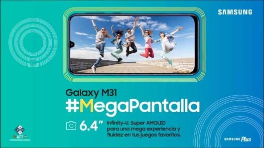 """Lee más sobre el artículo Galaxy M31: el """"Mega Teléfono"""" inteligente con poderosa batería, cámara y pantalla"""