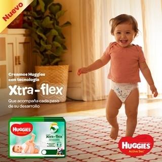 Lee más sobre el artículo Xtra-Flex, la nueva tecnología de Huggies® que llega a revolucionar el mercado de los pañales