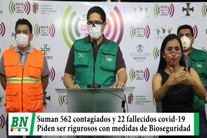Lee más sobre el artículo Alerta coronavirus, 562 casos y 22 fallecidos, Sedes pide ser rigurosos con medidas de Bioseguridad