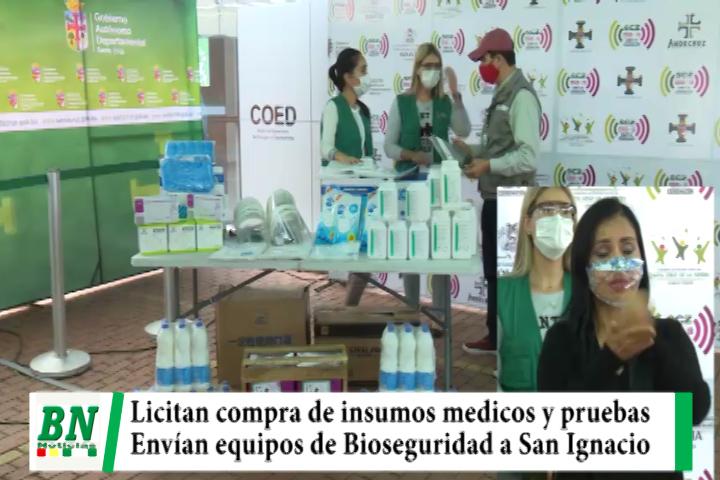 Lee más sobre el artículo Gobernación lanza licitación para compra de insumos médicos y pruebas de covid-19, envían equipos de Bioseguridad