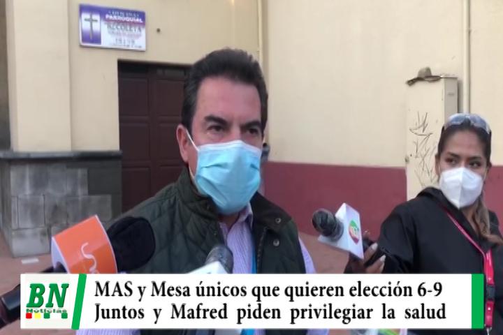 Lee más sobre el artículo Elección 2020, Juntos y Manfred piden suspender elección 6-9 por casos elevados de covid