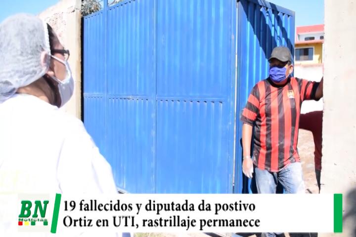 Lee más sobre el artículo Alerta coronavirus, 495 nuevos casos y 19 fallecidos, diputada da positivo, Ortiz en UTI mientras rastrillaje sigue