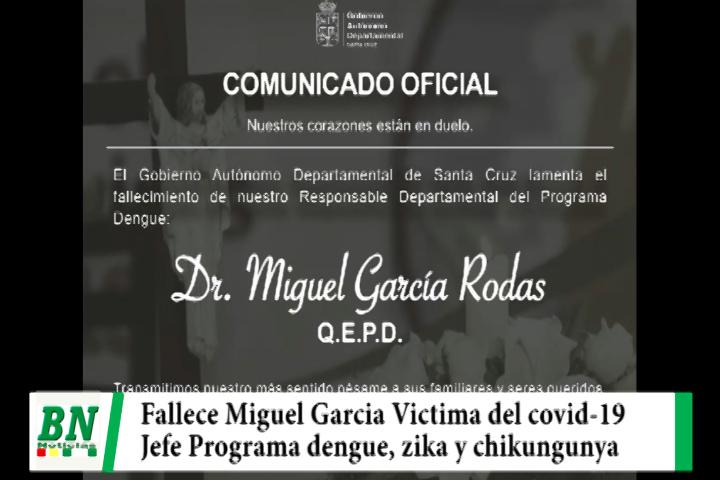 Lee más sobre el artículo Fallece otro médico del Sedes, Miguel García era responsable del Programa dengue, zika y chikungunya