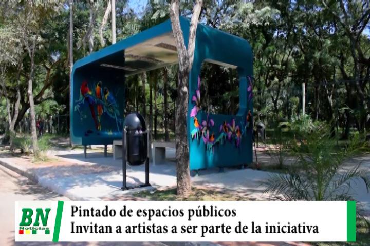 Lee más sobre el artículo Municipio invita a los artistas plásticos y otros a ser parte del pintado de espacios públicos
