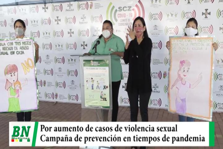 Lee más sobre el artículo Aumentan casos de violencia sexual a menores y realizan campaña para prevenir en pandemia