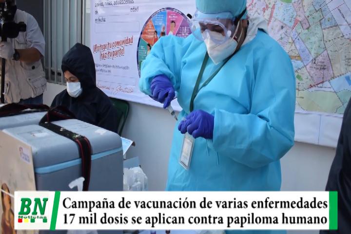 Lee más sobre el artículo Inician campaña de vacunación contra varias enfermedades y el papiloma hunano