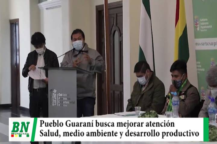 Lee más sobre el artículo Pueblo Guaraní busca mejorar la salud, medio ambiente y desarrollo productivo para su región