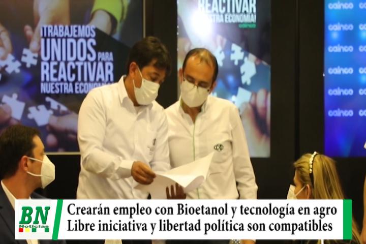 Lee más sobre el artículo Crearán empleo con Bioetanol y tecnología para el agro, libre iniciativa y libertad política son compatibles