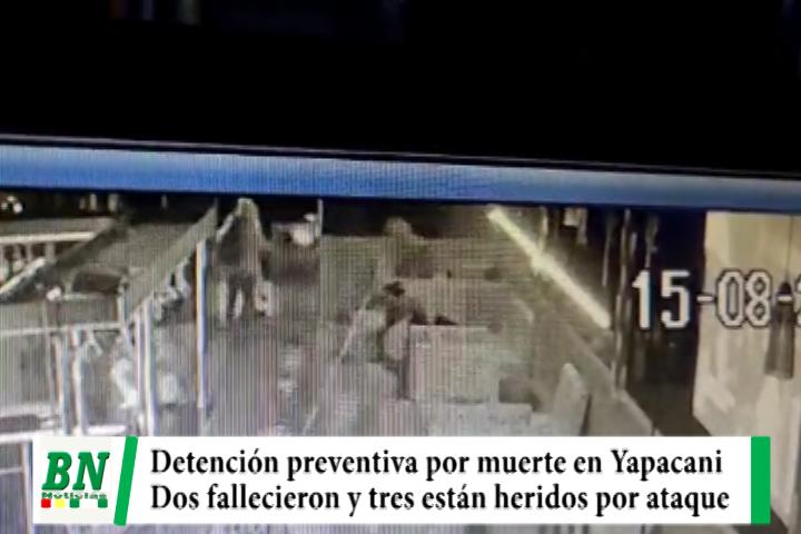 Lee más sobre el artículo Dan detención preventiva a tres sujetos por muerte en Yapacani tras balacera en karaoke