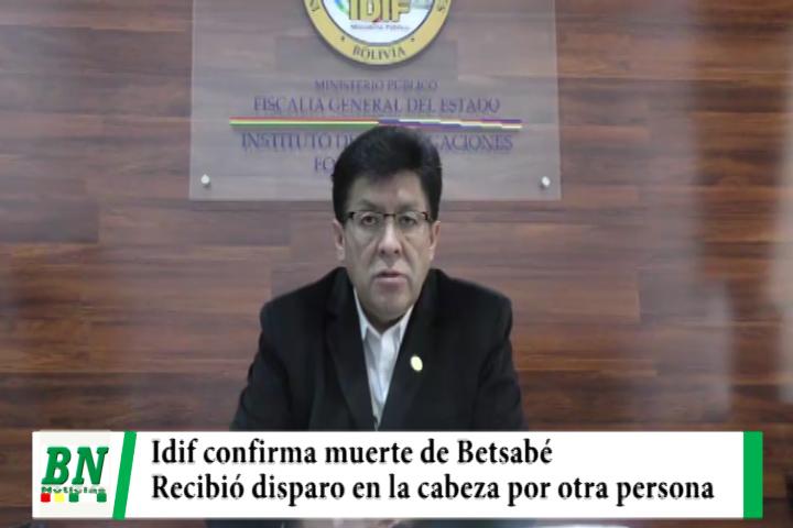 Lee más sobre el artículo Idif confirma que Betsabé recibió disparo en la cabeza por el policía Nina sentenciado a 30 años