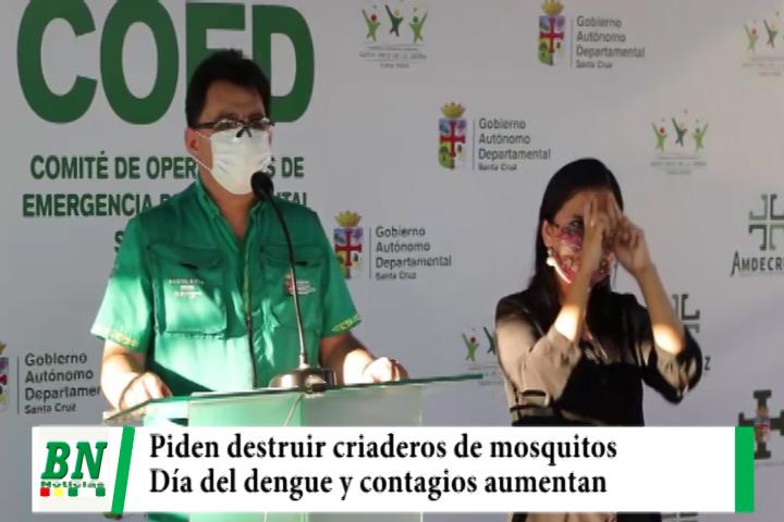 Lee más sobre el artículo Piden destruir criaderos de mosquitos y realizarán acciones de control, recuerdan día del dengue