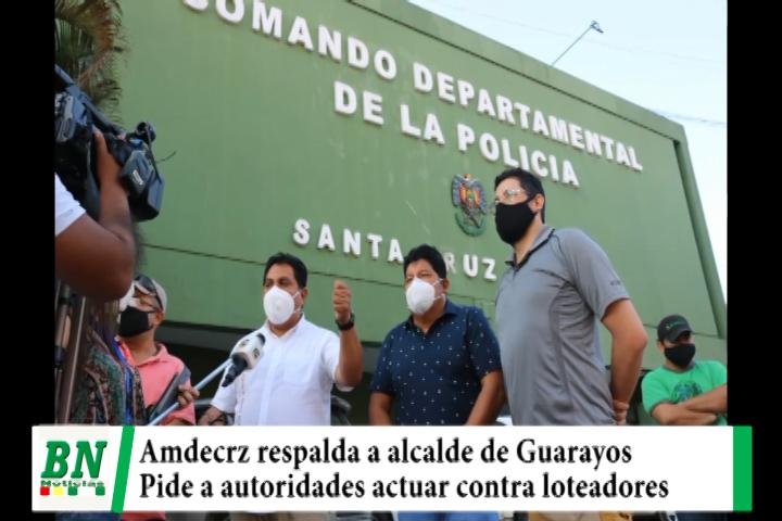 Lee más sobre el artículo Amdecruz rechaza secuestro de alcalde de Guarayos y pide procesar a loteadores