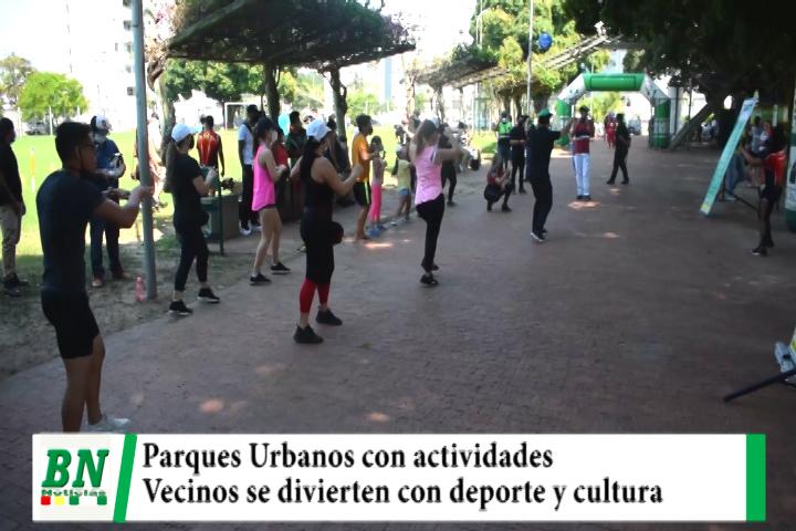 Lee más sobre el artículo Municipio implementa actividades culturales, deportivas y de entretenimiento en Parques Urbanos