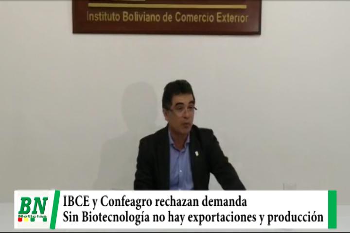 Lee más sobre el artículo IBCE y Confeagro rechazan demanda contra uso de Biotecnología y alertan de falta de alimentos