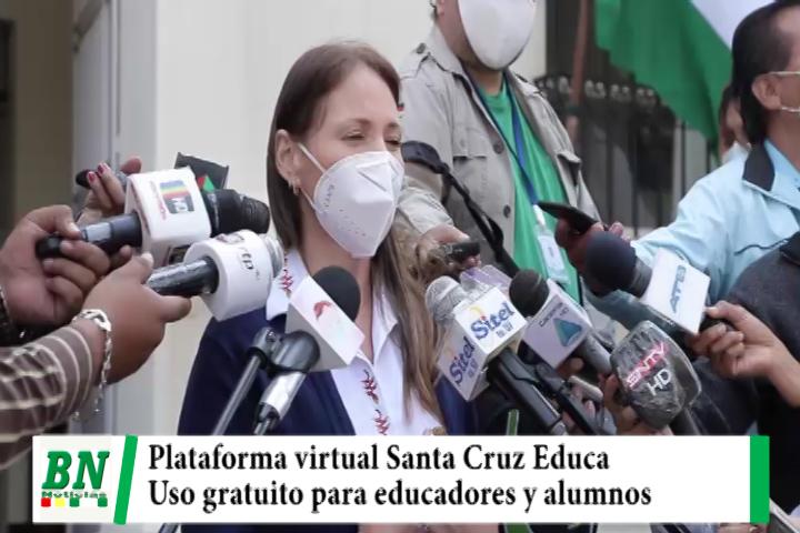 Lee más sobre el artículo Gobernación pone a disposición de educadores, profesionales y alumnos Plataforma Virtual Santa Cruz Educa