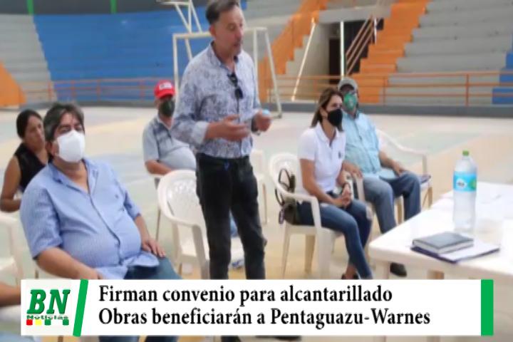 Lee más sobre el artículo Asambleísta y Gobierno firman convenio para realizar alcantarillado de Pentaguazu