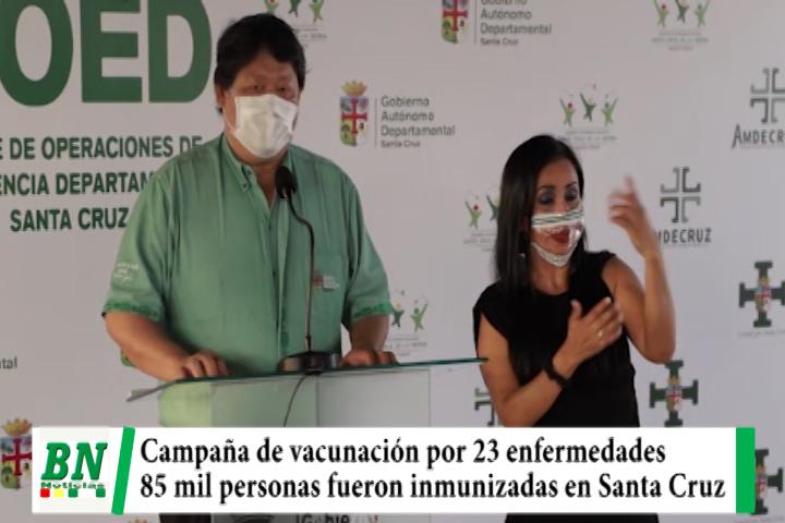 Lee más sobre el artículo Campaña de vacunación por 23 enfermedades llegó a 85 mil personas que fueron inmunizadas