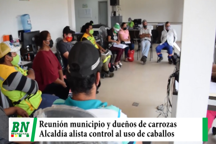 Lee más sobre el artículo Municipio y dueños de carrozas se reunieron y alcaldía alista control y sanción por uso de caballos