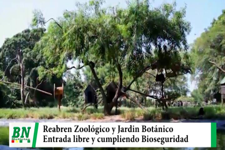 Lee más sobre el artículo Alcaldía reabre Zoológico y Jardin Botánico con entrada gratuita y cuidando Biosegurldad