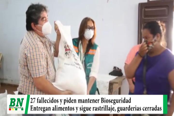 Lee más sobre el artículo Alerta coronavirus, 27 fallecidos y a seis meses piden mantener Bioseguridad, entregan alimentos y guarderías cerradas