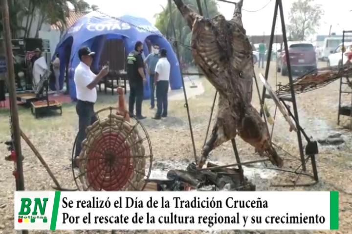 Lee más sobre el artículo Se realizó el Día de la Tradición Cruceña por el rescate de la cultura regional y por su crecimiento