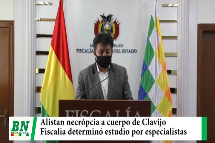 Lee más sobre el artículo Fiscalía alista necrópcia a supuesto cuerpo de Clavijo que será estudiado por 12 especialistas