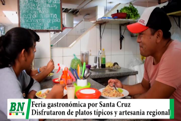 Lee más sobre el artículo En el Mercado Florida se realiza la feria gastronómica y se disfrutó de platos típicos y artesanía