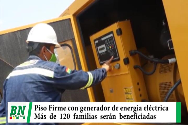 Lee más sobre el artículo Instalan un generador de electricidad en Comunidad de Piso Firme que beneficiará a 120 familias