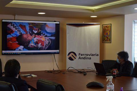 Lee más sobre el artículo FERROVIARIA ANDINA Y UNICEF PROMOVERÁN PRÁCTICAS AMIGABLES PARA FAMILIAS EN EL LUGAR DE TRABAJO