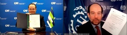 Lee más sobre el artículo CAF y OIT trabajarán en conjunto para impulsar más y mejores empleos en América Latina y el Caribe