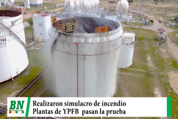 Lee más sobre el artículo YPFB realiza simulacro de incendio en plantas y pasan la prueba