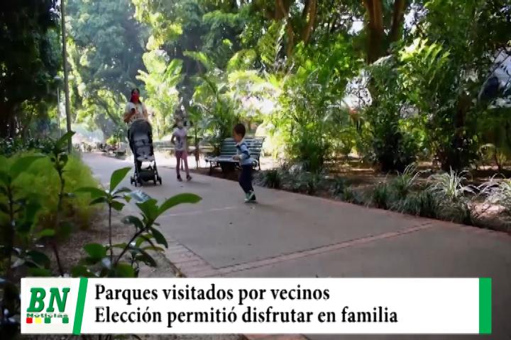 Lee más sobre el artículo Vecinos disfrutaron en familia en los parques municipales el domingo de elección