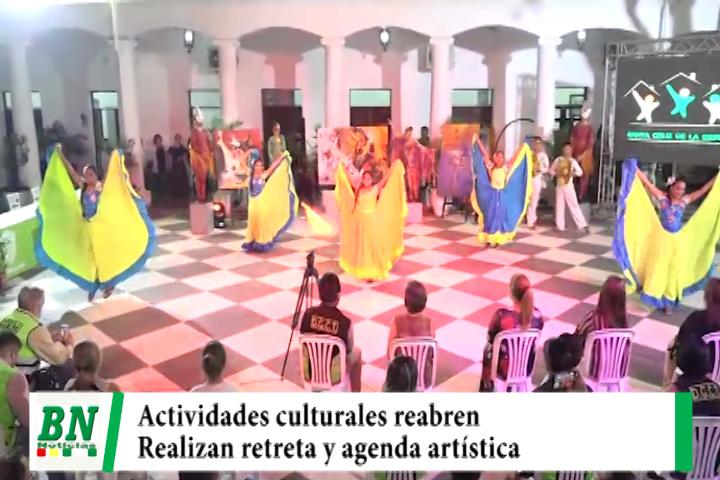 Lee más sobre el artículo Agenda cultural se iniciará este 23 de octubre hasta diciembre reabriendo las actividades artísticas