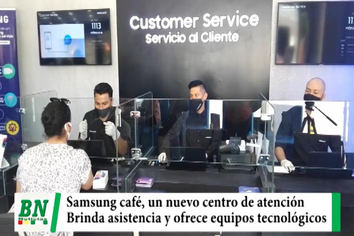 """Lee más sobre el artículo """"Samsung Café"""", el primer espacio en Bolivia que brinda asistencia técnica mientras se toma un buen café"""
