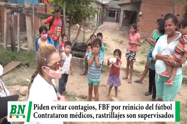 Lee más sobre el artículo Alerta coronavirus, Sedes pide evitar contagios, FBF por reinicio de campeonato, médicos tienen contratos y Sosa supervisó rastrillajes