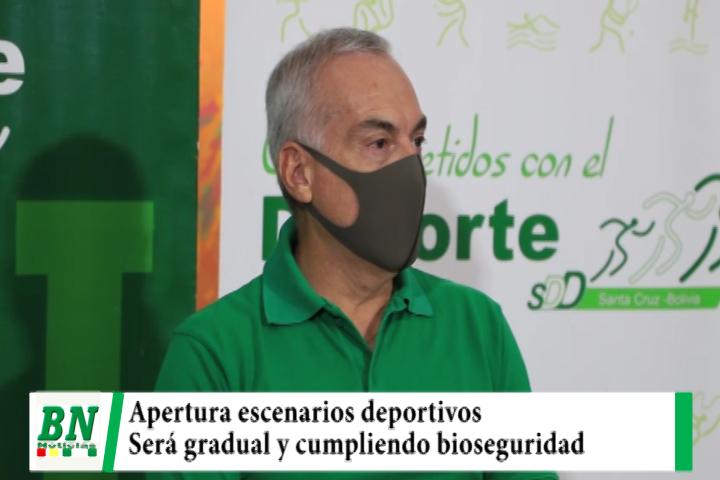Lee más sobre el artículo Gobernación reapertura 140 escenarios deportivos y pide cumplir bioseguridad