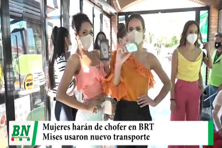 Lee más sobre el artículo Mujeres se capacitan para conducir en el BRT mientras mises se transportaron en nuevo sistema