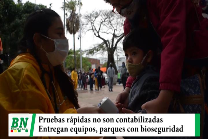 Lee más sobre el artículo Alerta coronavirus, nuevos datos sin pruebas rápidas, entregan equipos y parques con bioseguridad
