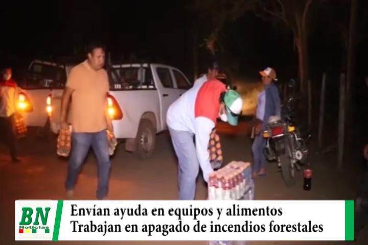 Lee más sobre el artículo Envían alimentos y equipos a zonas con incendios forestales, entregan equipos deportivos para recreación