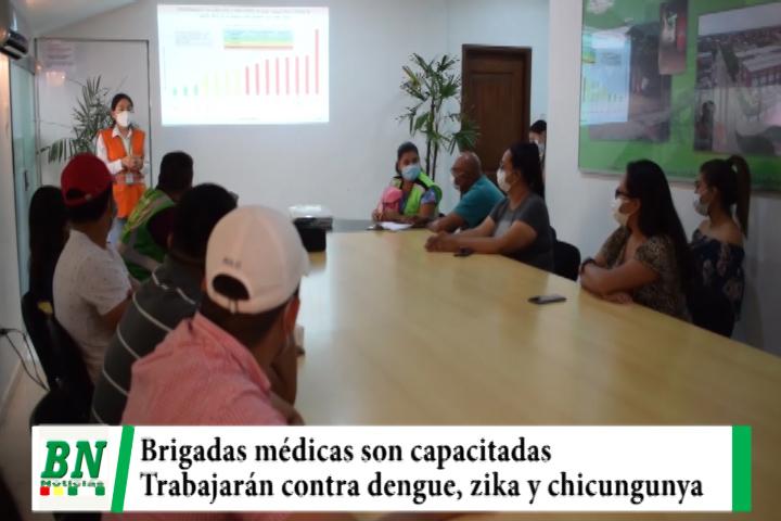 Lee más sobre el artículo Brigadas médicas son capacitadas para trabajar contra el dengue, zika y chicungunya
