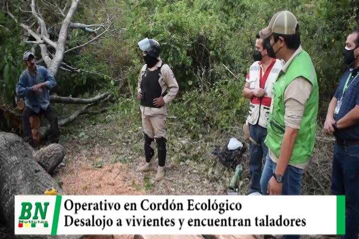 Lee más sobre el artículo Operativo en Cordón Ecológico contra vivientes y encuentran a taladores de árboles