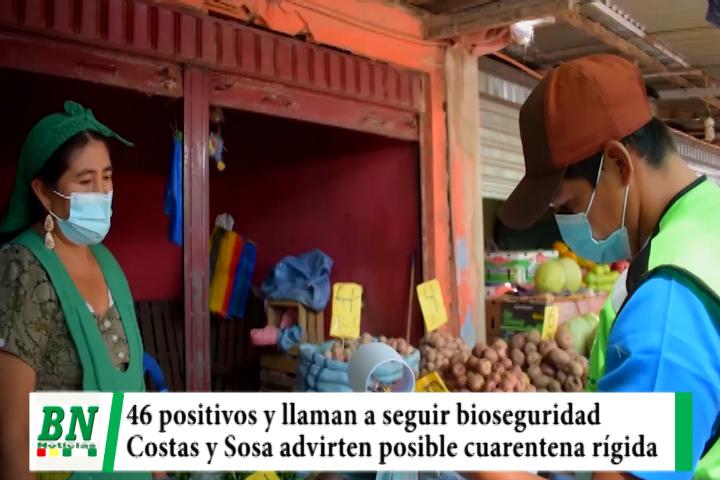 Lee más sobre el artículo Alerta coronavirus, 46 casos positivos y posible cuarentena rígida, seguir bioseguridad para evitarlo